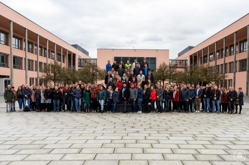 Die Studierenden des Zentrums für Akademische Weiterbildung der THD.