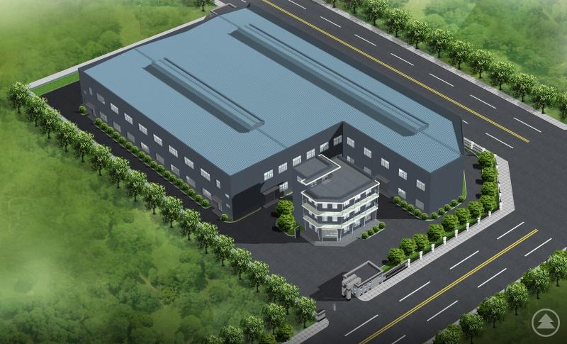 In der chinesischen Schlüsselregion Hangu Administrations Zone entsteht gerade für metron china ein neues Büro- mit Fertigungs- und Lagerhallen.