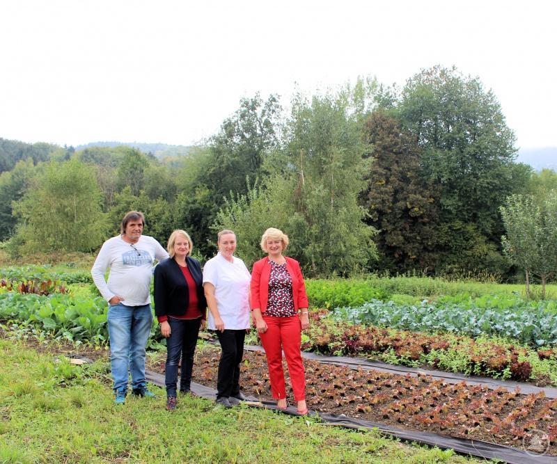 von links: Manfred Herbinger, Bettina Blöhm, Sigrid Kamm, Rita Hagl-Kehl, MdB