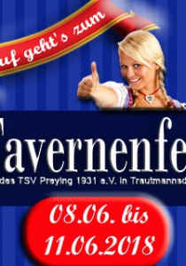 Tavernenfest Preying 2018   Fr, 08.06.2018 - Mo, 11.06.2018 ab 17:00 Uhr