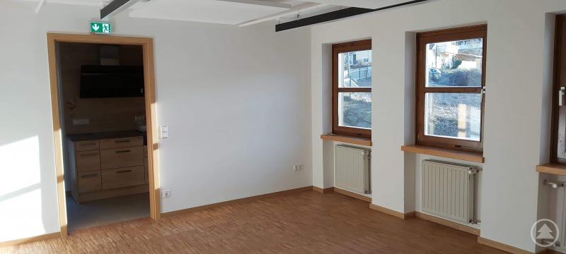 Die Räume, in denen das Café im Waldgeschichtlichen Museum untergebracht werden soll, sind fertig.