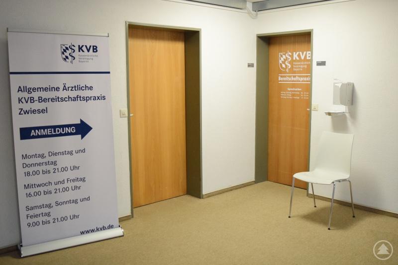 KV-Praxis im Wohnheim-Gebäude an der Arberlandklinik Zwiesel