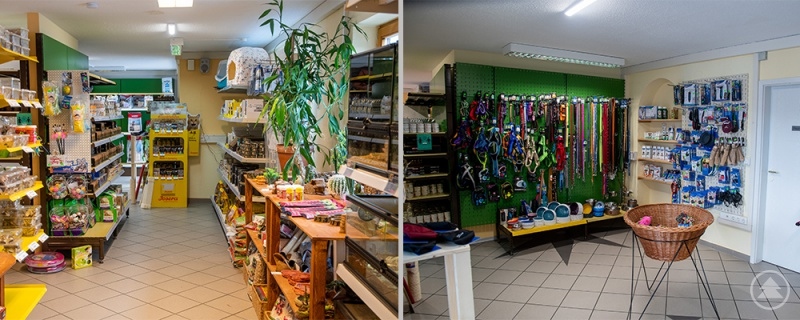 Der neue Laden in der Schwarzmaierstraße in Grafenau