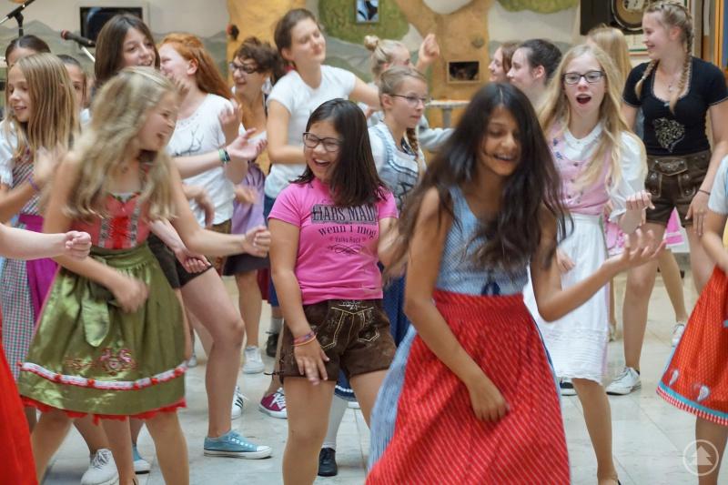 Tanzen weckt Begeisterung