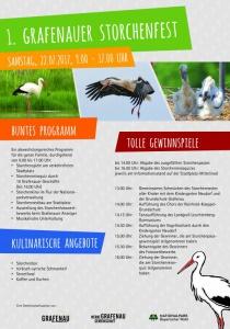 1. Grafenauer Storchenfest | Sa, 22.07.2017 von 09:00 bis 17:00 Uhr