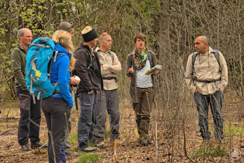 Die Ranger aus Israel sammelten viele Bayerwald-Eindrücke. Claudia Schmidt erklärte etwa das aktuell laufende LIFE+ Projekt, das sich unter anderem mit Moorrenaturierungen beschäftigt.