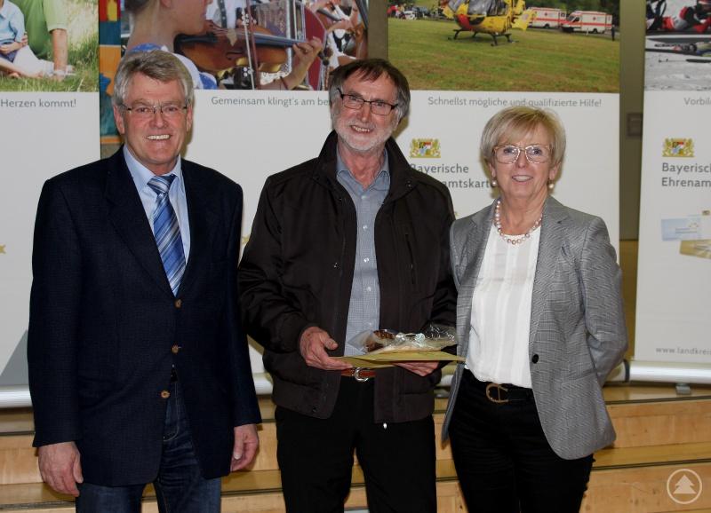 Bürgermeister Michael Schaller und Landrätin Rita Röhrl