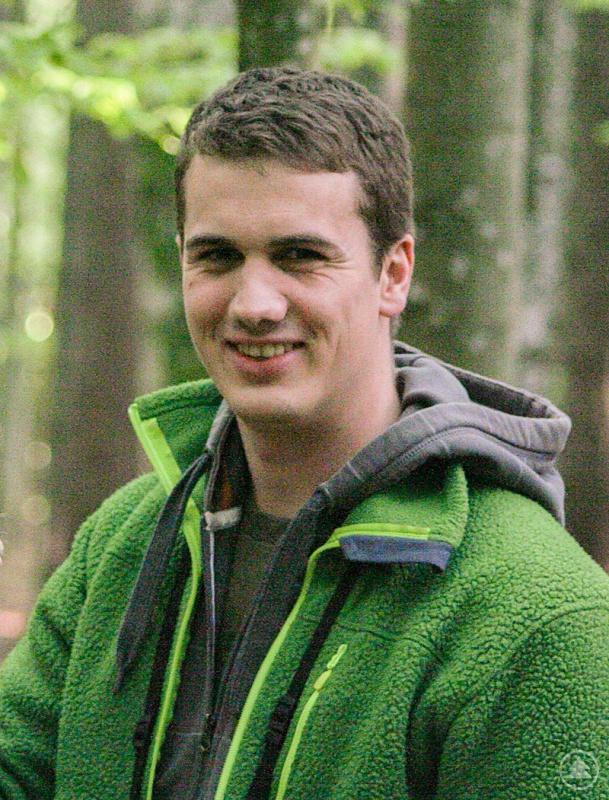 Simon Thorn wurde für seine Forschung im Nationalpark Bayerischer Wald ausgezeichnet.